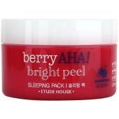 Ночная маска с пилинг-эффектом Etude House Berry Aha Bright Peel Sleeping Pack