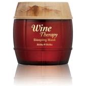 Антивозрастная ночная маска для лица  Holika Holika Wine Therapy Sleeping Mask Red Wine