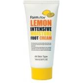 Лимонный крем для ног FarmStay Lemon Foot Cream