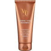 Маска с женьшенем, имбирём и хной для усиления роста волос Von U Ginseng Gold Treatment