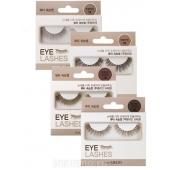 Накладные ресницы коричневого цвета The Saem Eyelash Clear