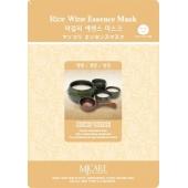 Маска с рисовым вином Mijin Cosmetics Rice Wine Essence Mask