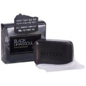 Мыло для проблемной кожи Missha Black Ghassoul Foam Clensing Bar