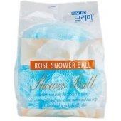 Мочалка для душа Sungbo Cleamy Flower Ball Rose Shower Ball
