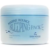 Ночная маска с коллагеном и водорослями The Skin House Marine Bounce Sleeping Pack