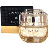 Капсульный крем для лица с экстрактом жемчуга D'beaucer Royal de Pearl Capsule Cream