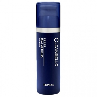 Тонер мужской антивозрастной Deoproce Cleanbello Homme 10 In 1 Multi Fluid