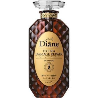 Кератиновый шампунь для восстановления волос Moist Diane Extra Damage Repair Shampoo