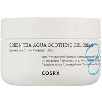 Успокаивающий крем-гель с экстрактом зеленого чая CosRx Green Tea Aqua Soothing Gel Cream