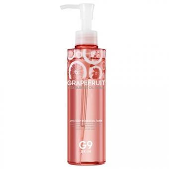 Пенка - масло для умывания с экстрактом грейпфрута G9Skin Grapefruit Vita Bubble Oil Foam