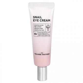 Крем для кожи вокруг глаз с улиточным муцином Village 11 Factory Snail Eye Cream