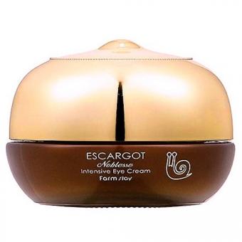 Крем для век с муцином улитки FarmStay Escargot Noblesse Intensive Eye Cream