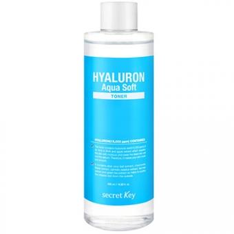 Гиалуроновый тонер Secret Key Hyaluron Aqua Soft Toner