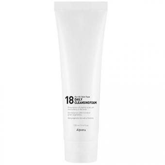 Очищающая пенка для молодой кожи A'Pieu 18 Daily Cleansing Foam