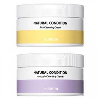 Очищающий крем на кипарисовой воде The Saem Natural Condition Cleansing Cream