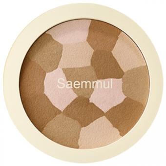 Пудра-бронзатор для лица The Saem Saemmul Luminous Multi Shading