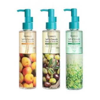 Увлажняющее масло для тела Deoproce Soft And Smooth Moisture Body Oil