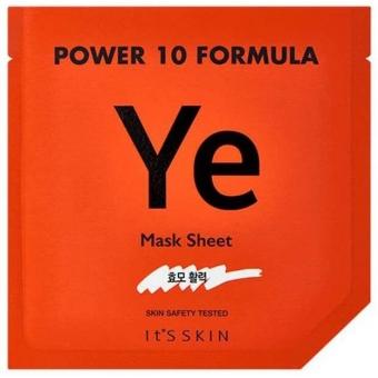 Восстанавливающая маска с экстрактом дрожжей It's Skin Power 10 Formula Mask Sheet YE