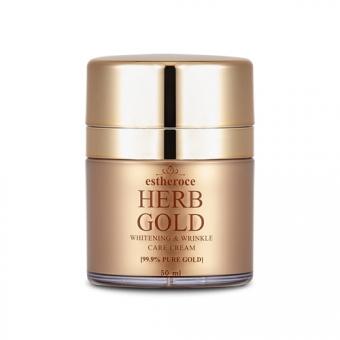 Антивозрастной крем Deoproce Estheroce Herb Gold Whitening and Wrinkle Care Cream