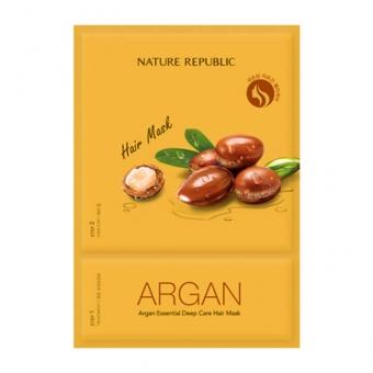 Маска для ухода за волосами Nature Republic Argan Essential Deep Care Hair Mask