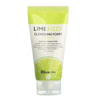 Пенка для умывания Secret Skin Lime Fizzy Cleansing Foam