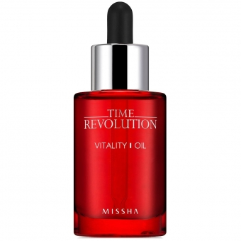 Восстанавливающее антиэйдж-масло для кожи Missha Time Revolution Vitality Oil