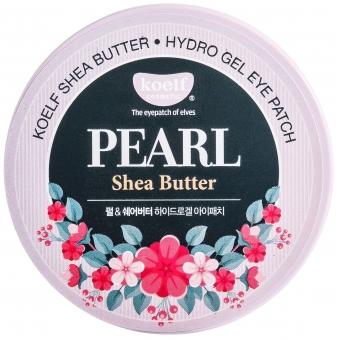 Гелевые патчи для глаз Koelf Hydro Gel Pearl & Shea Butter Eye Patch