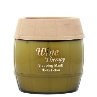 Обновляющая ночная маска для лица  Holika Holika Wine Therapy Sleeping Mask White Wine