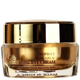 Крем для век антивозрастной Deoproce Snail Galac-Tox Revital Eye Cream