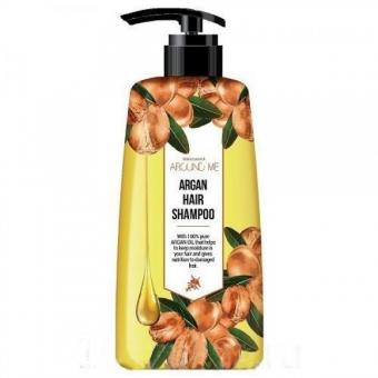Шампунь с экстрактом арганового масла Welcos Around Me Argan Damage Hair Shampoo
