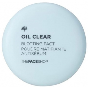 Пудра The Face Shop Oil Clear Blotting Pact