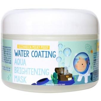 Осветляющая маска с морским виноградом Elizavecca Milky Piggy Water Coating Aqua Brightening Mask