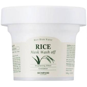 Рисовая маска для лица Skinfood Rice Mask