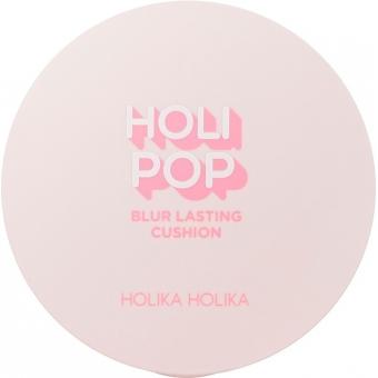 Матирующий кушон с экстрактом абрикоса Holika Holika Holipop Blur Lasting Cushion