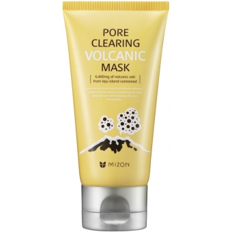 Маска для очищения пор Mizon Pore clearing volcanic mask