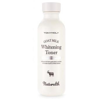 Отбеливающий тонер с козьим молоком Tony Moly Naturalth Goat Milk Whitening Toner