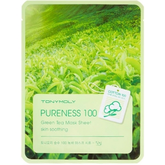 Маска для лица Tony Moly Pureness 100 Green Tea Mask Sheet