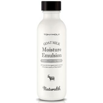Эмульсия на основе козьего молока  Tony Moly Naturalth Goat Milk Moisture Emulsion