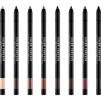 Водостойкий гелевый карандаш для глаз A'PIEU Color Forever Gel Pencil Liner