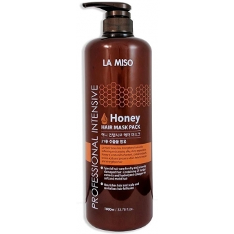 Маска для волос с медом La Miso Professional Intensive Honey Hair Mask Pack