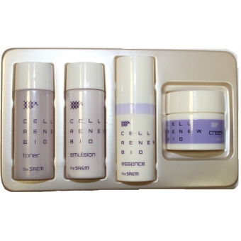 Антивозрасной уходовый набор миниатюр The Saem Cell Renew Bio Skin Care Special 4 Gift