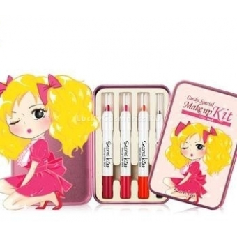 Набор карандашей для глаз и губ Secret Key Candy Special Makeup Kit Edition No.2