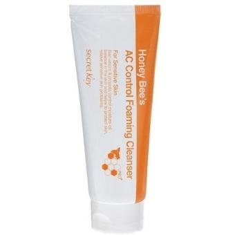 Очищающая пенка для проблемной кожи лица Secret Key Honey Bee AC Control Foaming Cleanser