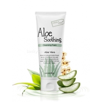 Гель-крем с алое  Secret Key Aloe Soothing Gel Cream