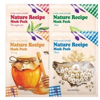 Тканевая маска для лица Secret Key Nature Recipe Mask Pack