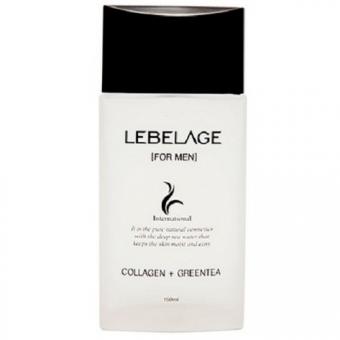 Лосьон с коллагеном и зеленым чаем для мужчин Lebelage Collagen+Green Tea Skincare Utilites For Men Lotion