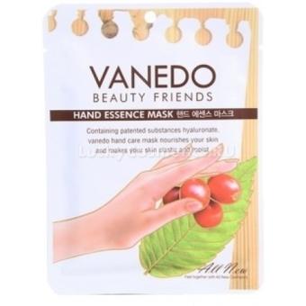 Маска для рук с фильтратом слизи улитки и мочевиной Vanedo Beauty Friends Hand Essence Mask