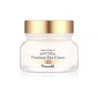 Антивозрастной крем для глаз Tony Moly Naturalth Goat Milk Premium Eye Cream