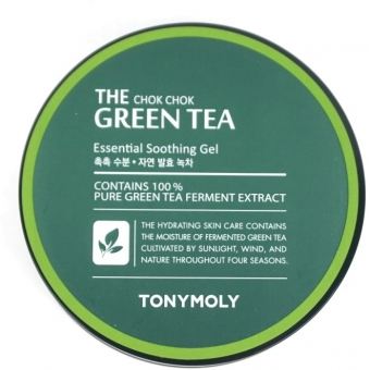 Гель для лица и тела Tony Moly The Chok Chok Green Tea Essential Soothing Gel