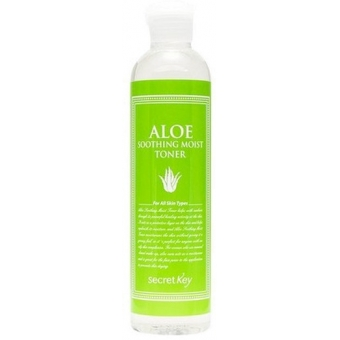 Тоник с экстрактом алоэ Secret Key Aloe Soothing Moist Toner